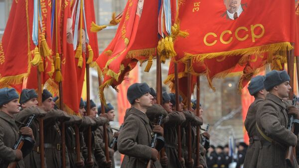 March commemorating 75th anniversary of 1941 military parade on Red Square - Sputnik International