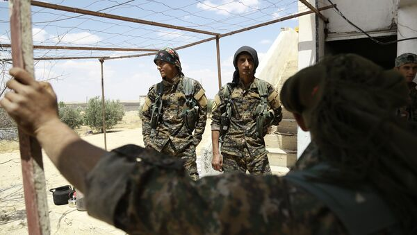 Fighters from the Kurdish People's Protection Units (YPG). (File) - Sputnik International