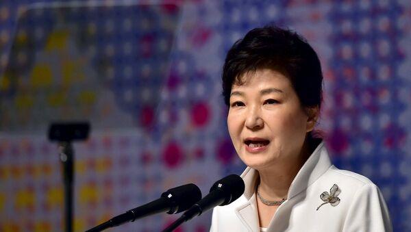 South Korean President Park Geun-hye (File) - Sputnik International
