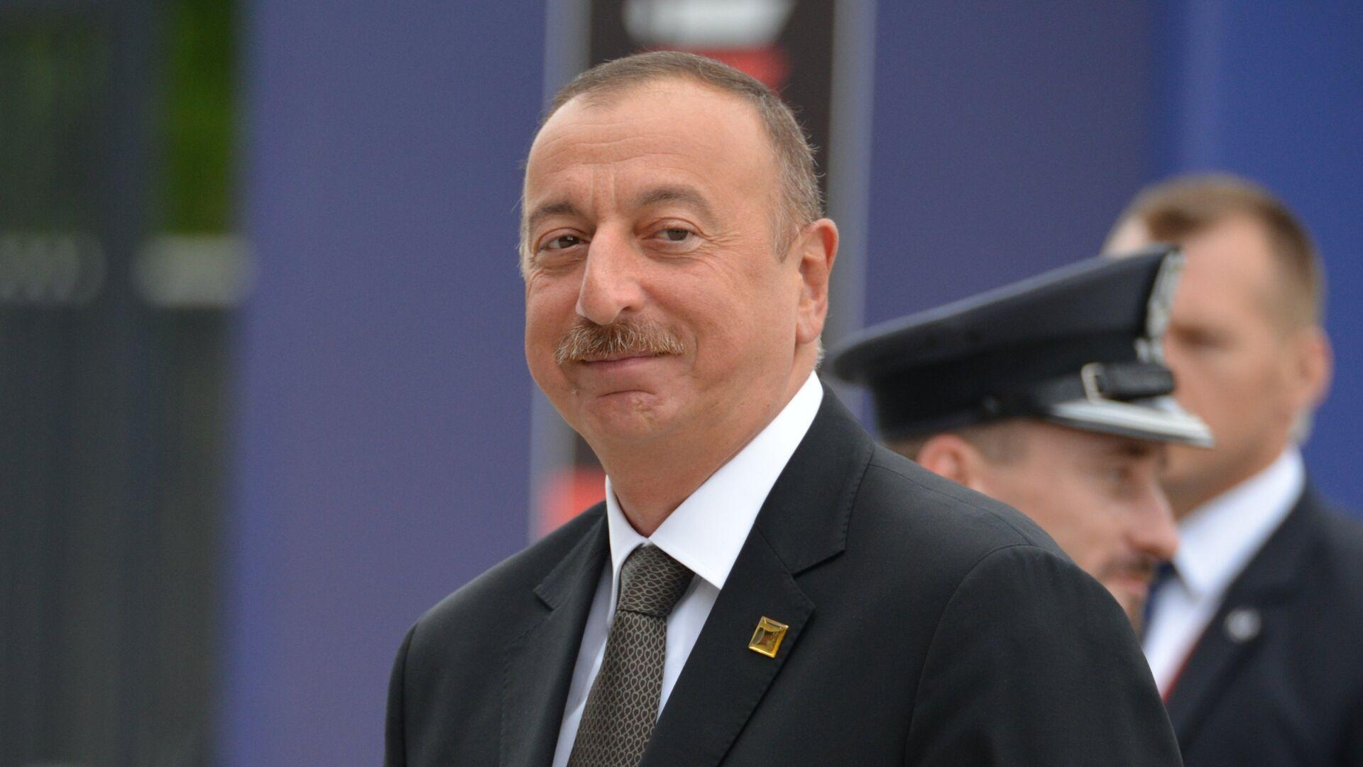 President of Azerbaijan Ilham Aliev - Sputnik International, 1920, 13.10.2021