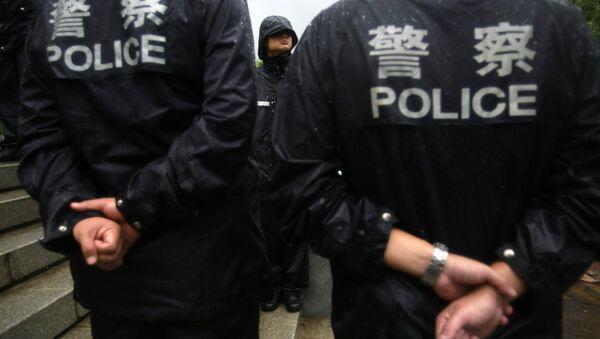 Chinese police officers. (File) - Sputnik International
