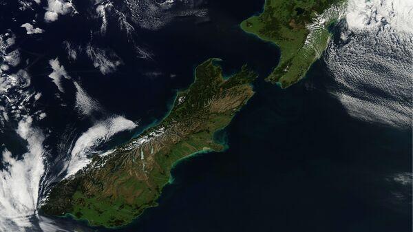 View New Zealand from space  - Sputnik International