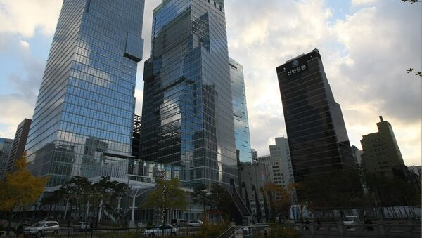 View of downtown Seoul. - Sputnik International