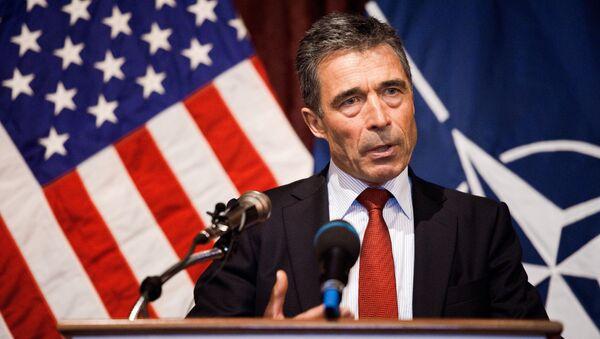 Former NATO chief Anders Fogh Rasmussen - Sputnik International