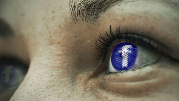 Facebook eye - Sputnik International