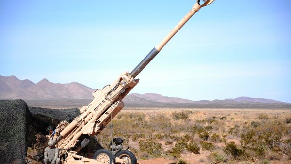 The fire mission used the M982 Excalibur, a long range artillery shell that uses global positioning satellites to more precisely hit the target. - Sputnik International