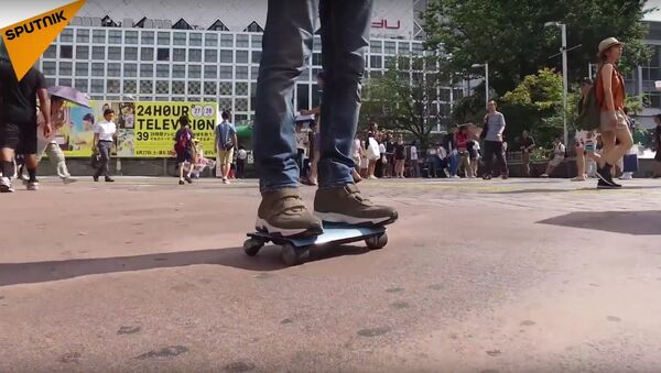 If You Don't Like Walking This WalkCar Is Something You Need! - Sputnik International