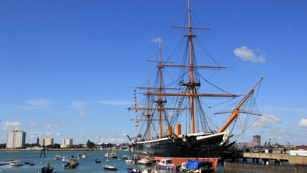 Portsmouth historic dockyard - Sputnik International