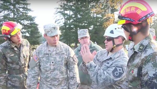 Joint Chinese-US military drills in Kunming, southwest China - Sputnik International