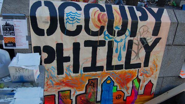 Occupy Philadelphia - Sputnik International
