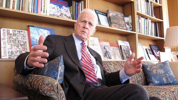 Dr. James Billington, Librarian of Congress speaks on April 9, 2009 at the Library of Congress in Washington,DC. - Sputnik International