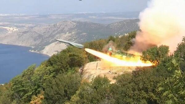 Utes coastal silo-based missile system - Sputnik International