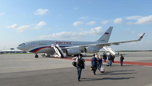 Il-96-300 aircraft - Sputnik International