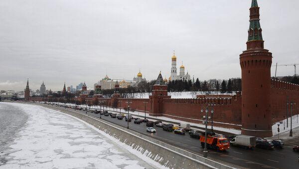 Moscow Kremlin as seen from the Bolshoi Moskvoretsky Bridge. (File) - Sputnik International