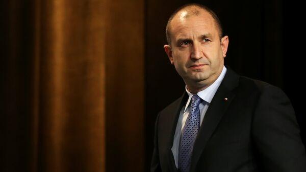 Bulgaria's President-elect Rumen Radev - Sputnik International