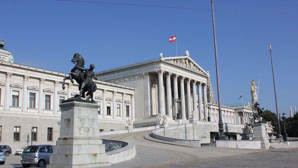The Parliament building (Parlament), Dr.-Karl-Renner-Ring, Vienna - Sputnik International