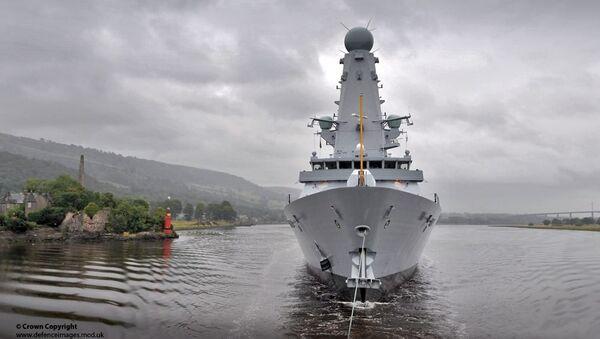 Type 45 destroyer HMS Duncan - Sputnik International