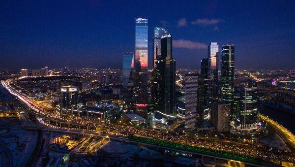A view of Moscow City international business center - Sputnik International