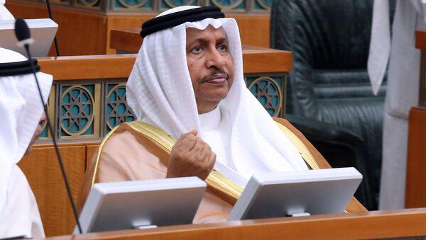 Kuwaiti PrimeMminister Sheikh Jaber al-Mubarak al-Sabah takes part in a parliamentary session at the national assembly in Kuwait City. (File) - Sputnik International