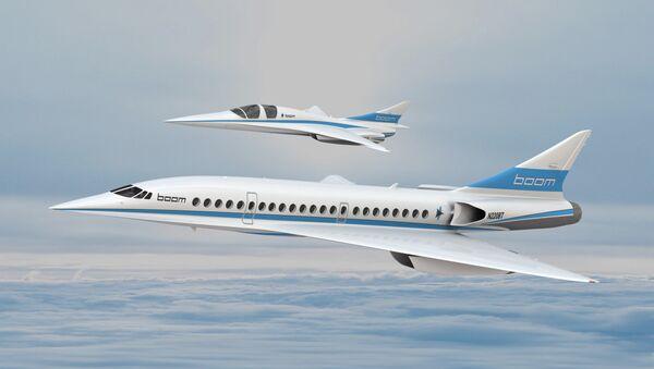 XB-1 and Boom Airliners - Sputnik International