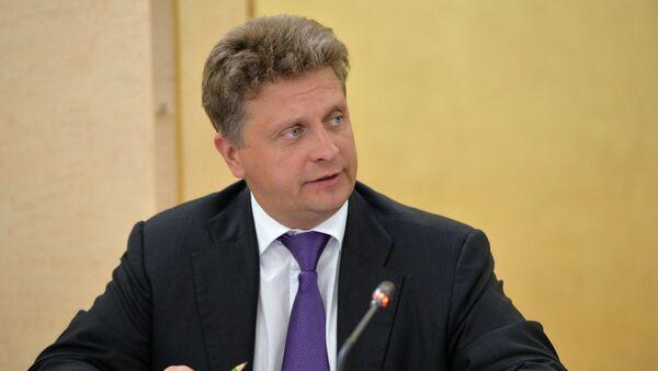 Minister of Transport Maksim Sokolov - Sputnik International