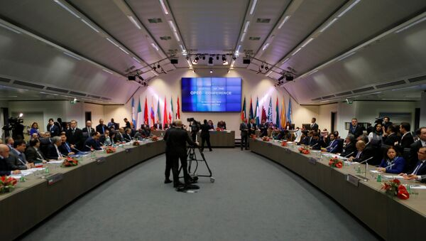 A general view of the beginning of a meeting of the Organization of the Petroleum Exporting Countries (OPEC) in Vienna, Austria, November 30, 2016. - Sputnik International