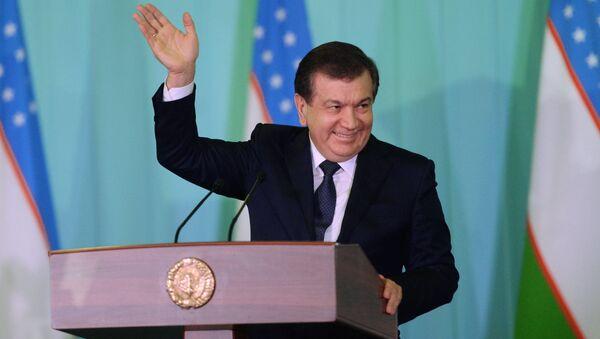 Uzbek Prime Minister and Acting President Shavkat Mirziyoyev, winner of the presidential election in Uzbekistan - Sputnik International