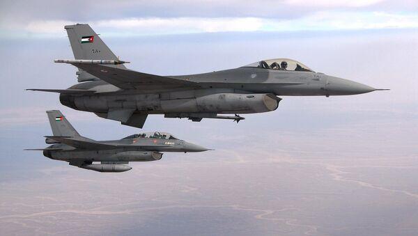 Jordanian F-16 fighter jets - Sputnik International