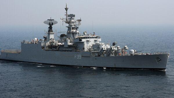 India Navy's battleship INS Betwa (File) - Sputnik International