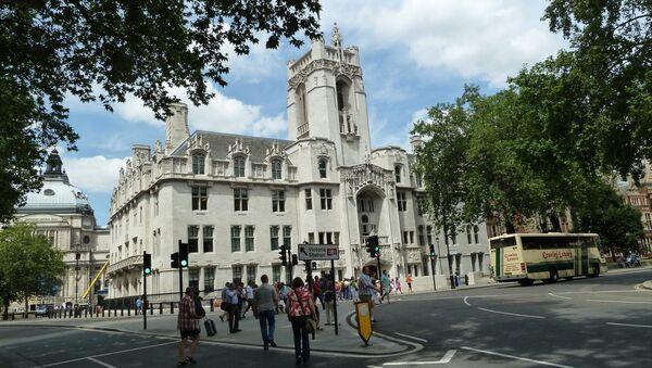 UK Supreme Court building - Sputnik International