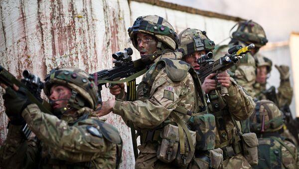 British cadets of the Royal Military Academy Sandhurst - Sputnik International