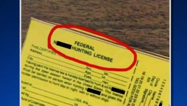 Fake Federal N***** License - Sputnik International