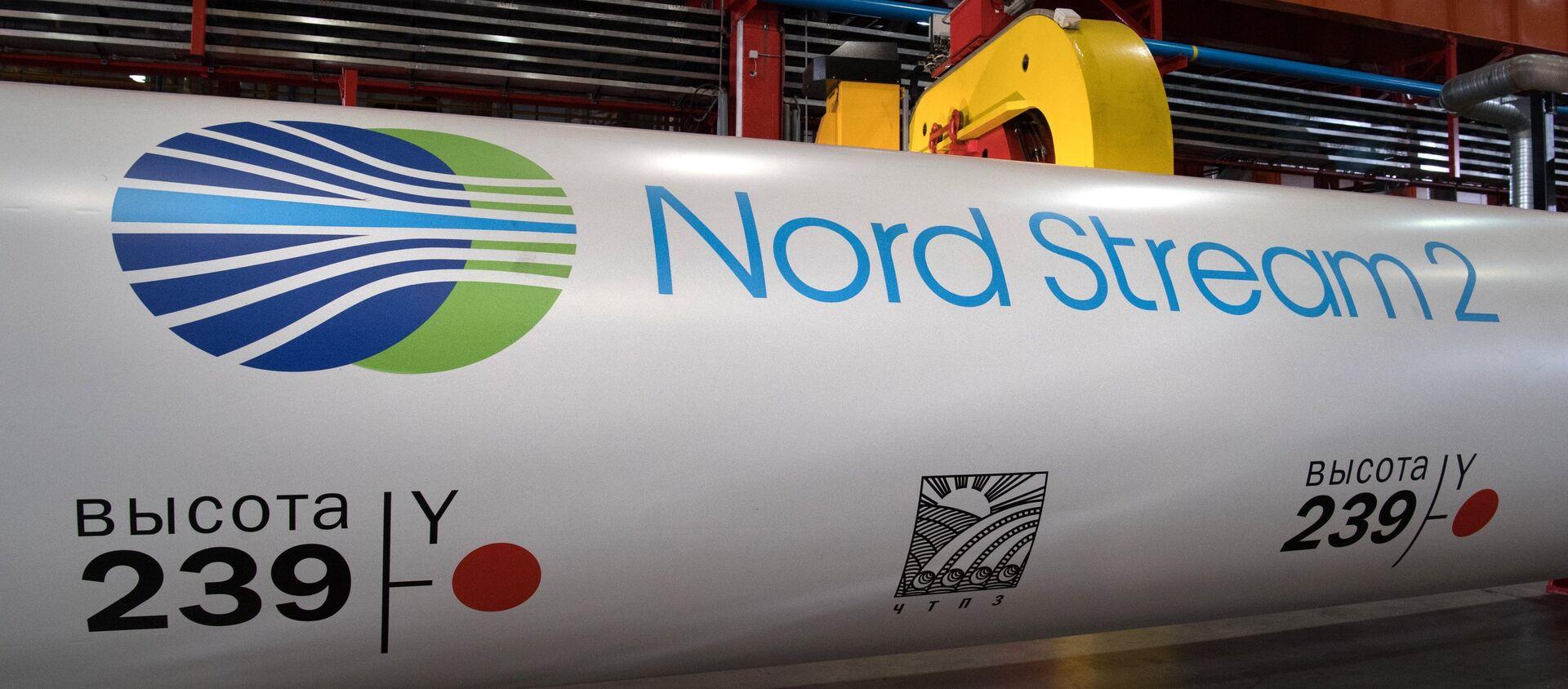 Nord Stream 2 gas pipeline construction project - Sputnik International, 1920, 21.07.2021