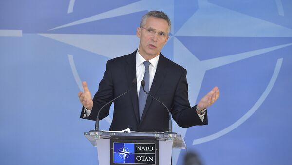 NATO Secretary General Jens Stoltenberg at meetings of NATO Ministers of Foreign Affairs - NATO headquarters - 6-7 December 2016 - Sputnik International