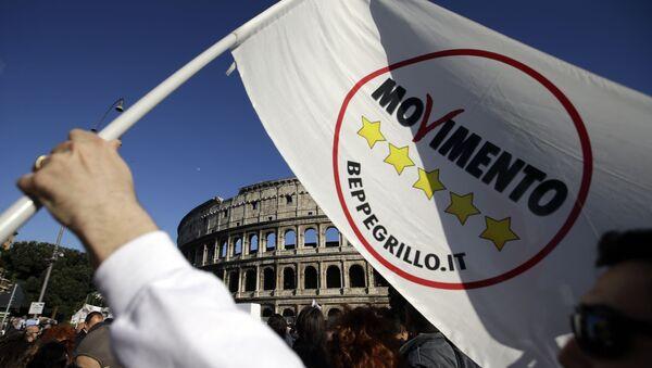 Five Star Movement logo. (File) - Sputnik International