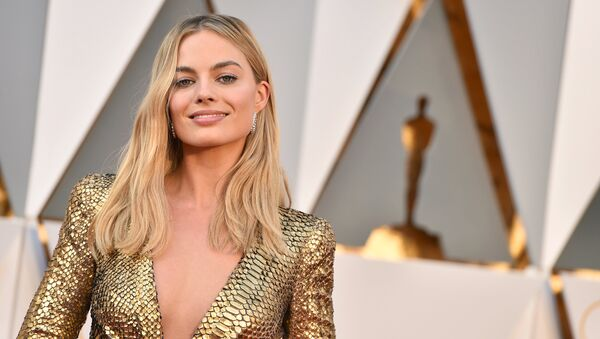 Margot Robbie arrives at the Oscars on Sunday, Feb. 28, 2016, at the Dolby Theatre in Los Angeles. - Sputnik International