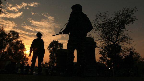 Indian army soldiers. (File) - Sputnik International