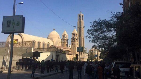 Saint-Mark's Coptic Cathedral in Cairo - Sputnik International
