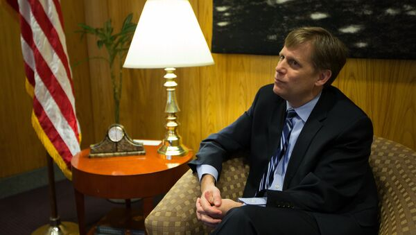 Michael McFaul, the US Ambassador to the Russian Federation, gives an interview at the US Embassy in Moscow (File) - Sputnik International