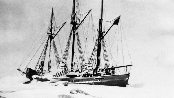 The schooner Maud, with which Capt. Roald Amundsen, discoverer of the South Pole, hopes to reach the North Pole in 1924. - Sputnik International