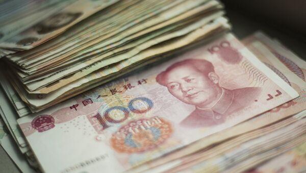 Chinese 100 yuan notes. (File) - Sputnik International