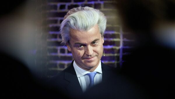 Dutch far-right Freedom Party leader Geert Wilders - Sputnik International