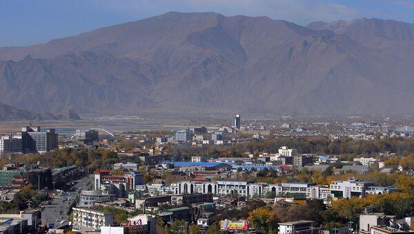 A panorama of Lhasa, the capital of Tibet. (File) - Sputnik International