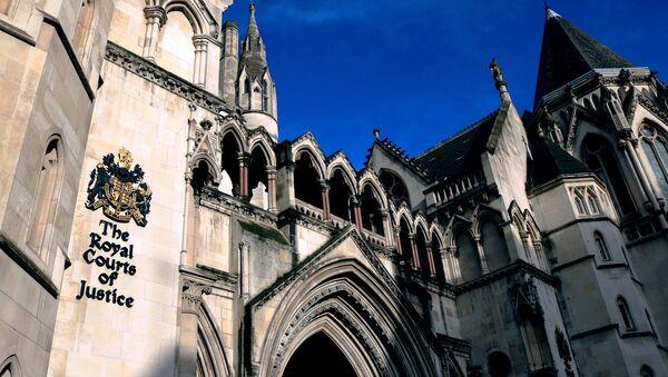 The Royal Court of Justice, London - Sputnik International