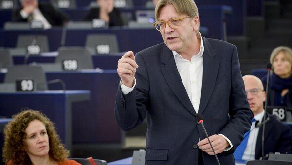 Guy Verhofstadt, the European Parliament's chief Brexit negotiator - Sputnik International