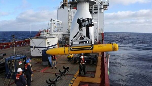 China's Navy seizes American underwater drone in South China Sea - Sputnik International