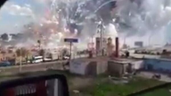 Mexico Firework Explosion - Sputnik International