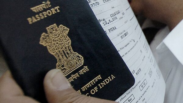 Indian passport. (File) - Sputnik International