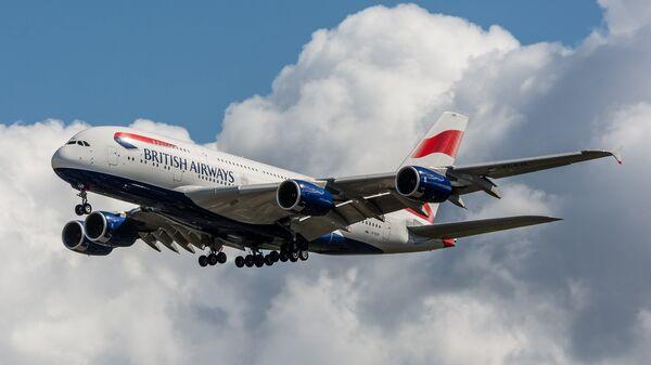 British Airways A380-841 G-XLED - Sputnik International