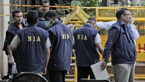 Officers of the National Investigation Agency. File photo - Sputnik International